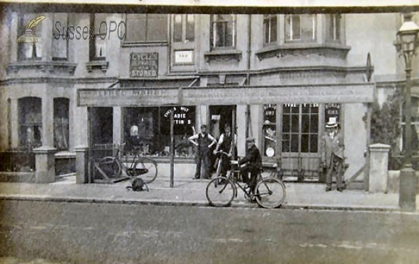 Image of Hove - Alfred Marsh Cycle Shop