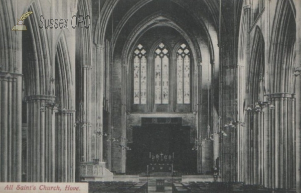 Image of Hove - All Saints Church - Interior