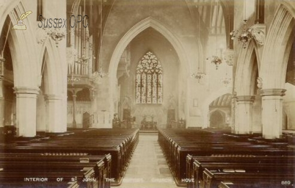 Image of Hove - St John the Baptist Church (Interior)