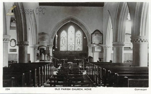 Image of Hove - St Andrew's Old Parish Church (Interior)