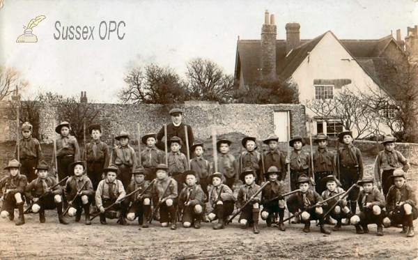 Image of Hove - Group of Scouts