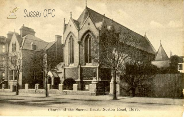 Hove - Church of the Sacred Heart, Norton Road (RC)