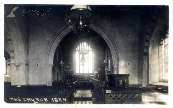 Iden - All Saints Church (Interior)