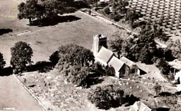Iden - All Saints Church (Aerial view)