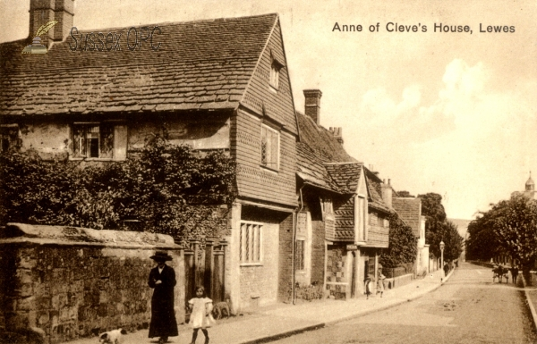 Lewes - Anne of Cleve's House