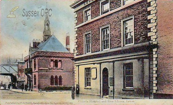 Lewes - Victoria Hospital & Free Library
