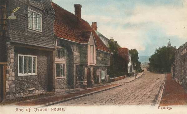 Lewes - Ann of Cleve's House