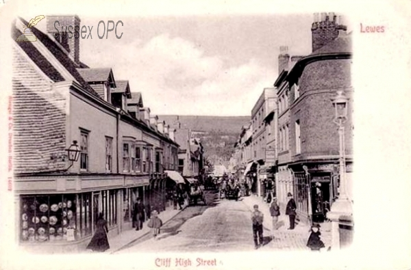 Lewes - Cliff High Street