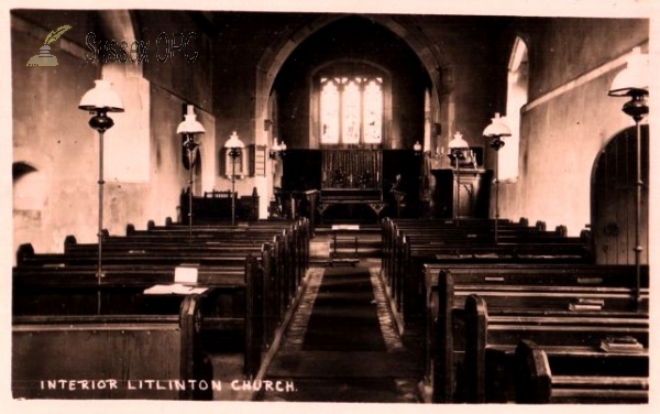 Litlington - St Michael's Church (Interior)