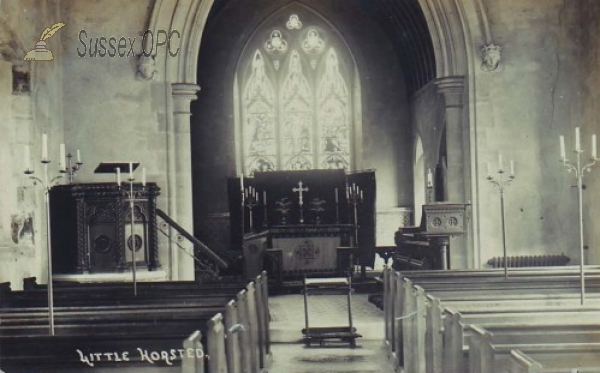 Image of Little Horsted - St Michael & All Angels Church (Interior)