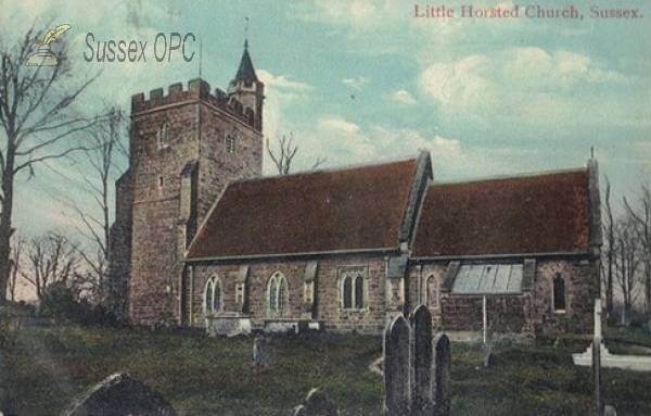 Little Horsted - St Michael & All Angels Church