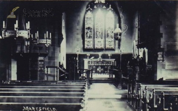 Maresfield - St Bartholomew's Church (Interior)