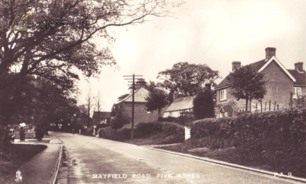 Five Ashes (near Mayfield) - Mayfield Road