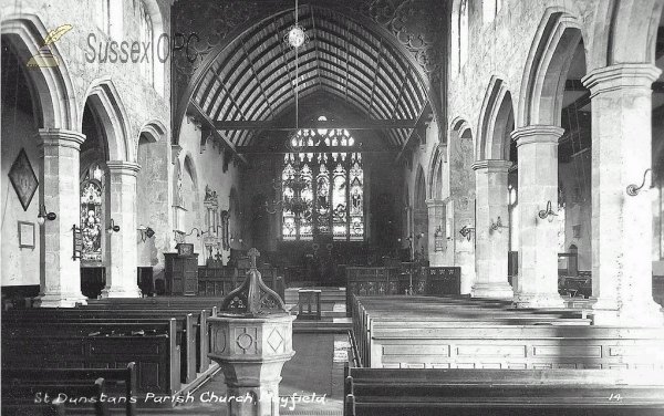 Mayfield - St Dunstan's Church (Interior)