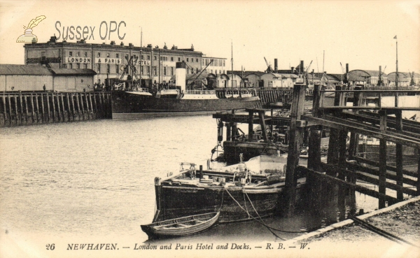 Newhaven - London & Paris Hotel (Docks)
