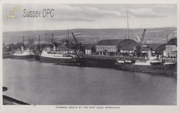 Image of Newhaven - Channel Boats at East Quay