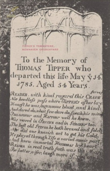 Newhaven - Thomas Tipper's Tomb