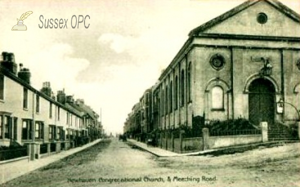 Image of Newhaven - Congregational Church & Meeching Road