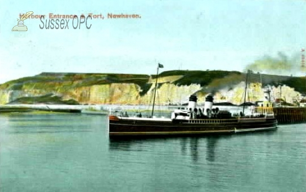 Newhaven - Harbour Entrance and Fort