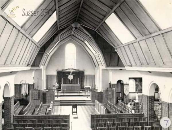 Moulsecomb - St Andrew's Church (Interior)
