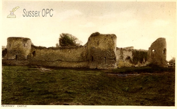 Pevensey - The Castle