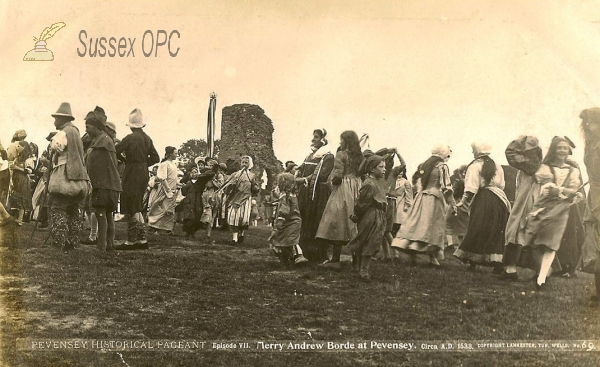 Pevensey - Historical Pageant (Merry Andrew Borde)
