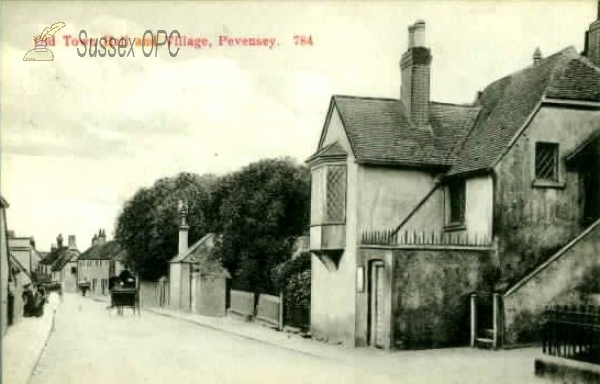 Pevensey - Old Town Hall & Village