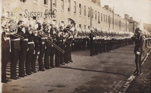 Preston - Barracks, Church Parade