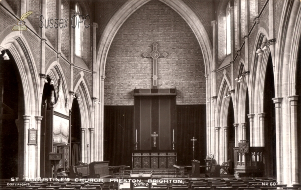 Preston - St  Augustine's Church (Interior)