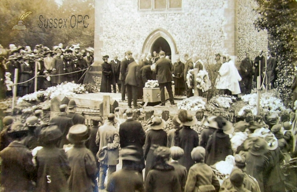 Image of Ringmer - St Mary (Funeral of William L Christie of Glyndebourne)