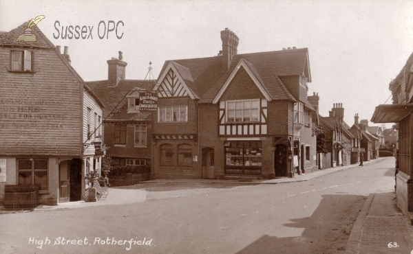 Rotherfield - High Street & King's Arms