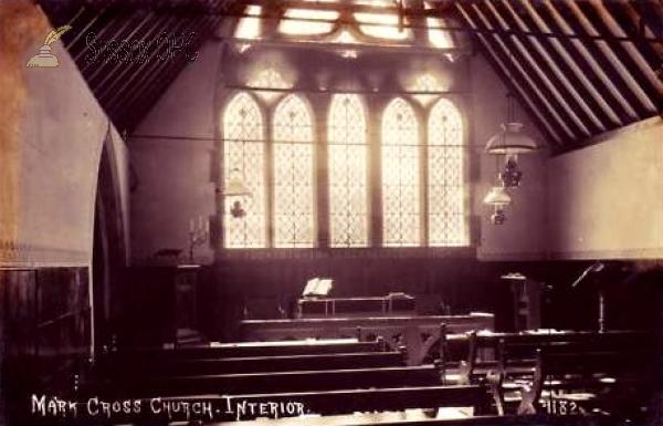 Mark Cross - St Mark's Church (Interior)