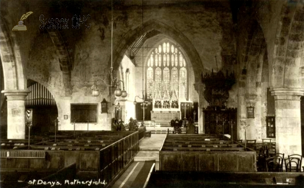 Rotherfield - St Deny's Church (interior)