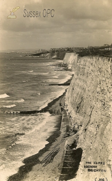 Roedean - Cliffs (Railway track)