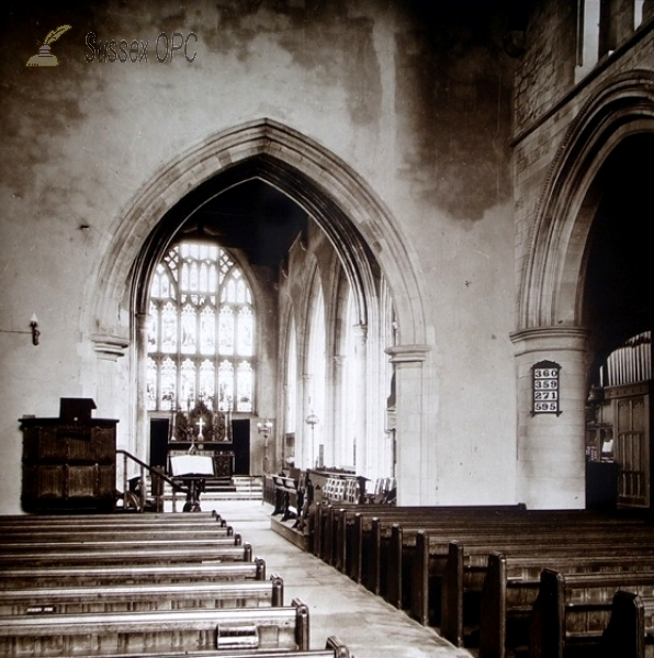 Image of Rye - St Mary's Church (Interior)