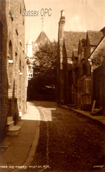 Image of Rye - West Street, Old Houses