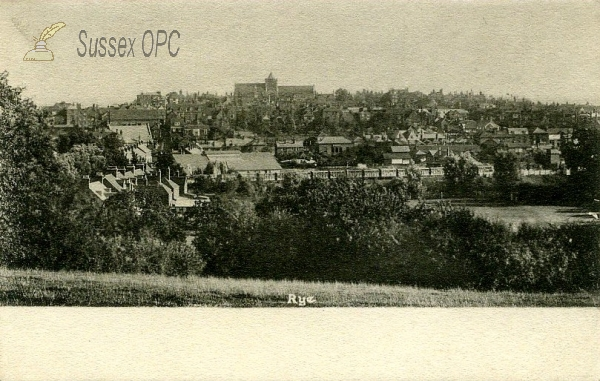 Image of Rye - A view of the town