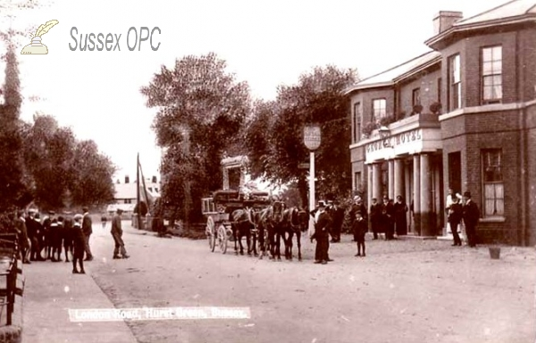 Hurst Green - London Road & George Hotel