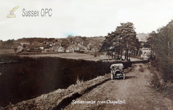 Sedlescombe - View from Chapel Hill