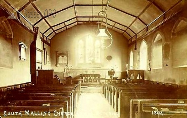 Image of South Malling - St Michael the Archangel Church (Interior)