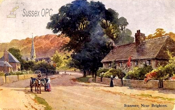 Image of Stanmer - The village