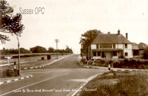 Image of Flimwell - The Hare & Hounds and Cross Roads