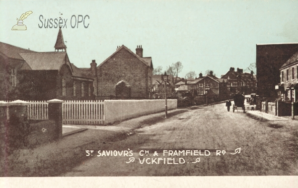 Uckfield - St Saviour's Church, Framfield Road