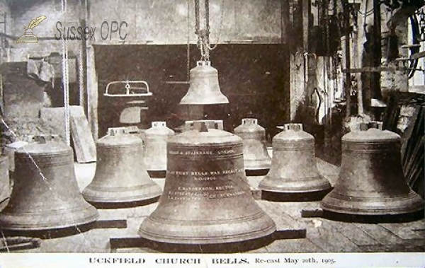 Uckfield - Holy Cross Church (Bells, Recast 20th May 1905)