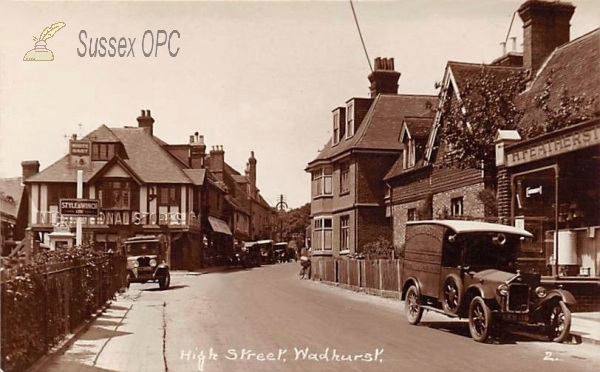 Wadhurst - High Street (with van)