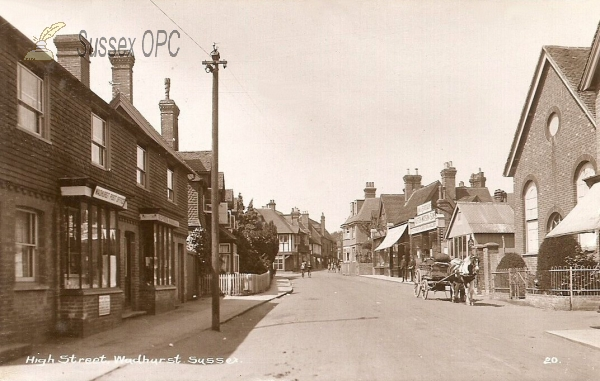 Wadhurst - High Street (Town Chapel & Post Office)