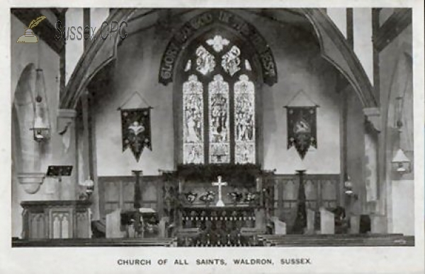 Waldron - All Saints Church (Interior)