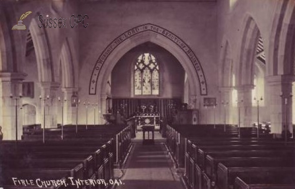 Image of West Firle - St Peter's Church (Interior)