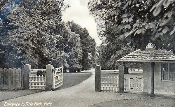 Image of West Firle - Firle Park (Gates)
