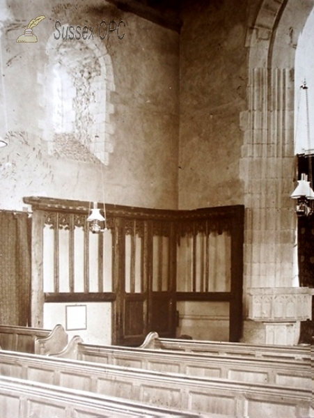 Westham - St Mary's Church (Interior - south west corner)